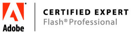 adobe certified expert in flash