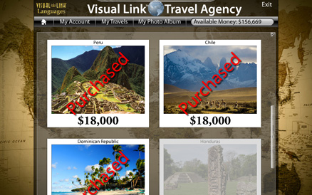 virtual travel agency