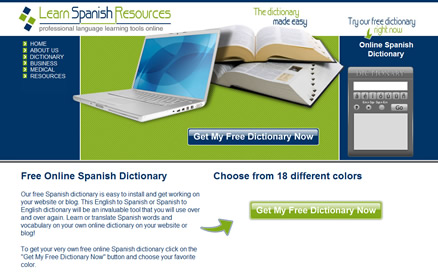 learn spanish resources website