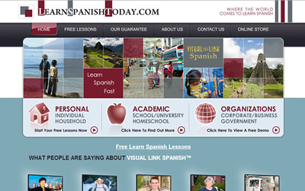 learn spanish today website