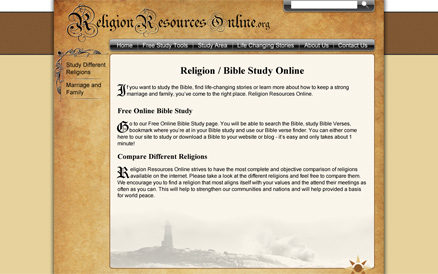 religion resources online website