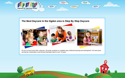 my step by step daycare website